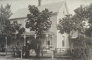 The Seidel house about 1910